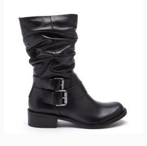 Matisse Robbie Side Buckle Leather Boots